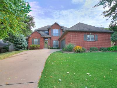 Edmond Single Family Home For Sale: 3824 Tambos Trail