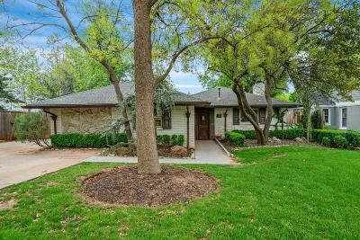 Nichols Hills Single Family Home For Sale: 1100 Bedford Drive