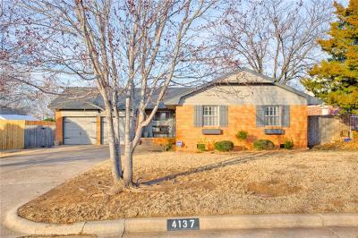 Oklahoma City Single Family Home For Sale: 4137 NW 62nd Street