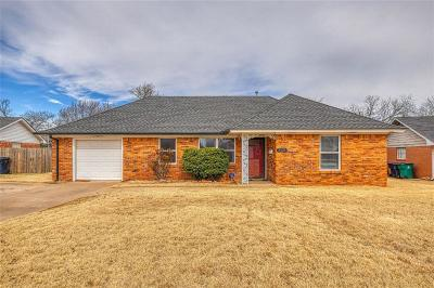 Oklahoma City Single Family Home For Sale: 3725 NW 59th Terrace
