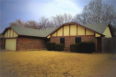 Edmond Single Family Home For Sale: 1912 Willow Creek Road