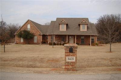 Blanchard Single Family Home For Sale: 3621 Meadow Lark Circle