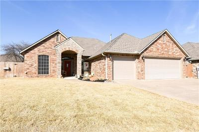 Edmond Single Family Home For Sale: 1705 NW 161st Circle