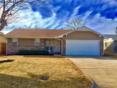 Midwest City Single Family Home For Sale: 318 W Silverwood Drive