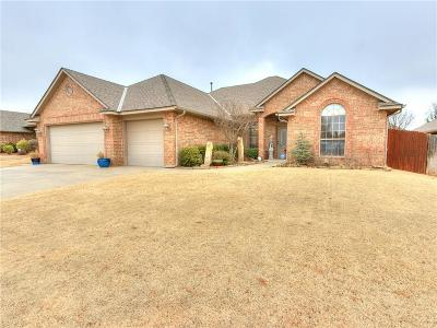 Lincoln County, Oklahoma County Single Family Home For Sale: 4617 NW 161st Street