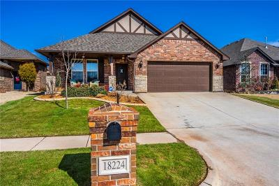Edmond Single Family Home For Sale: 18224 Bridlington Drive