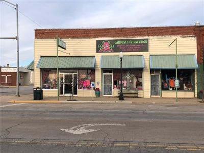 Elk City Commercial For Sale: 123 S Main