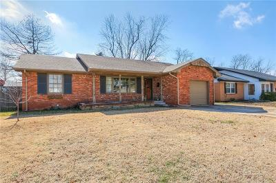 Oklahoma City Single Family Home For Sale: 2804 Kent Drive