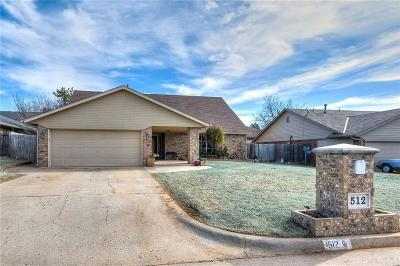 Yukon Single Family Home For Sale: 512 Sage Brush Road
