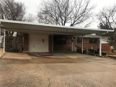 Midwest City Single Family Home For Sale: 6209 SE 8th Street