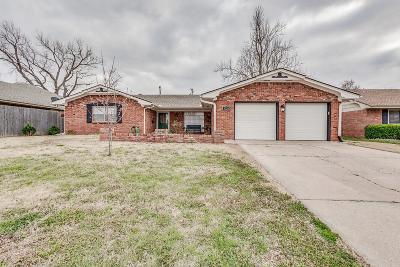 Oklahoma City Single Family Home For Sale: 5720 NW 87th Street