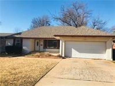 Yukon Single Family Home For Sale: 101 E Platt Drive