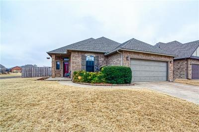 Lincoln County, Oklahoma County Single Family Home For Sale: 412 Butterfield Trail