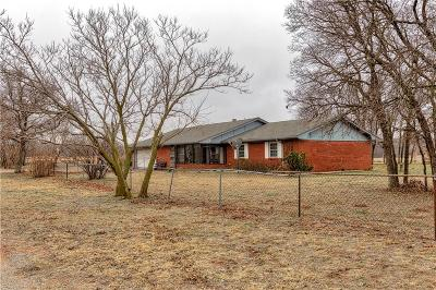 Sayre Single Family Home For Sale: 12301 N 1874 Road