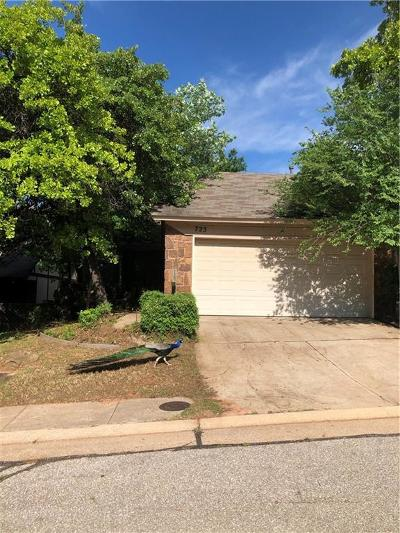 Edmond Condo/Townhouse For Sale: 723 Rimrock Road