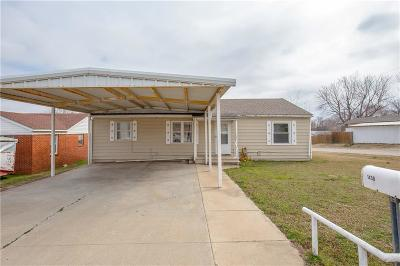 Pauls Valley OK Single Family Home For Sale: $75,000