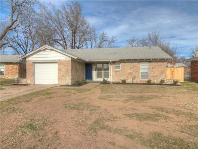 Del City Single Family Home For Sale: 4801 Lisa Lane