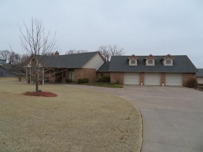 Clinton OK Single Family Home For Sale: $405,000