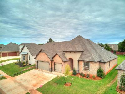 Lincoln County, Oklahoma County Single Family Home For Sale: 19704 Millstone Crossing Drive