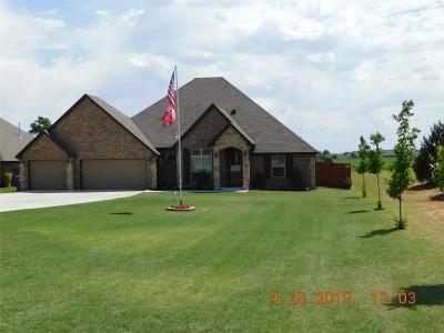 Tuttle Single Family Home For Sale: 1308 Antler Ridge