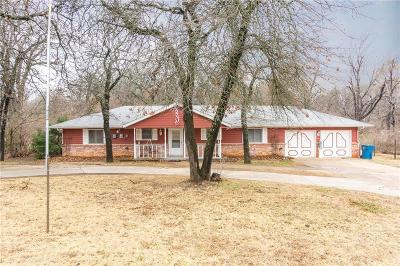 Choctaw Single Family Home For Sale: 619 S Anderson Road