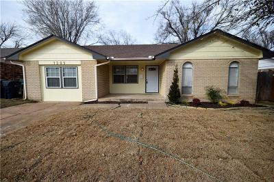 Single Family Home For Sale: 1305 Northgate Terrace