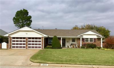 Oklahoma City Single Family Home For Sale: 4629 NW 60th Street