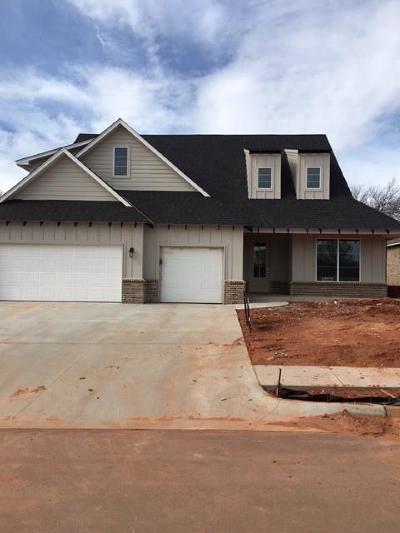 Lincoln County, Oklahoma County Single Family Home For Sale: 2517 Bretton Lane