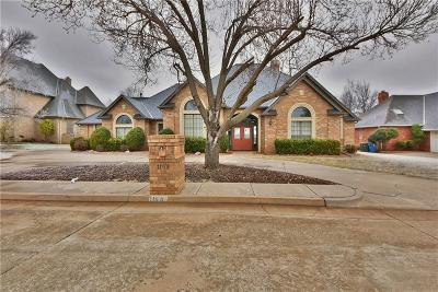 Lincoln County, Oklahoma County Single Family Home For Sale: 1109 Irvine Drive