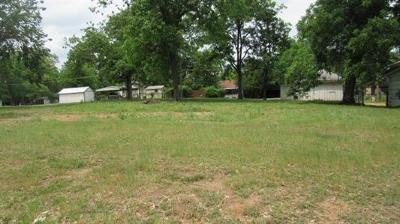 Hugo Residential Lots & Land For Sale: 807 W Jackson Street