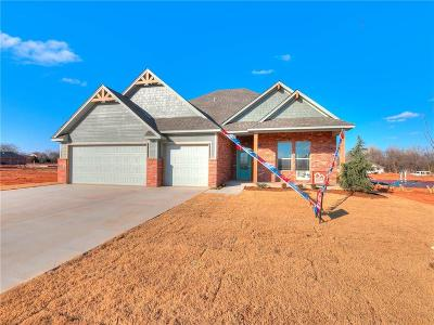 Mustang Single Family Home For Sale: 1805 W Trout Way