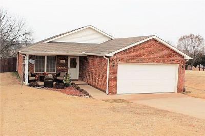 Chandler OK Single Family Home For Sale: $134,900