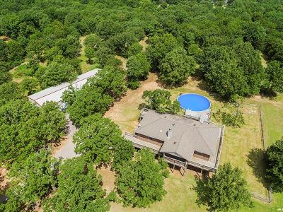 McLoud Single Family Home For Sale: 21401 Montgomery Drive