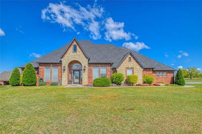 Blanchard OK Single Family Home For Sale: $309,900