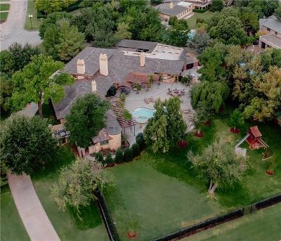 Nichols Hills OK Single Family Home For Sale: $2,925,000