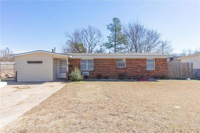 Del City Single Family Home For Sale: 2104 S Sunnylane Road