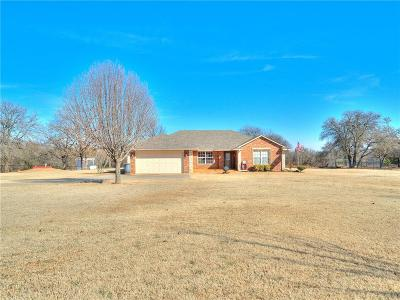 McLoud Single Family Home For Sale: 17809 Deer Trail