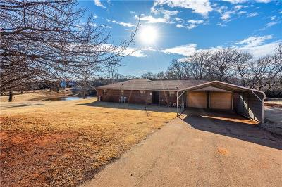 Guthrie Single Family Home For Sale: 751 S Choctaw Road