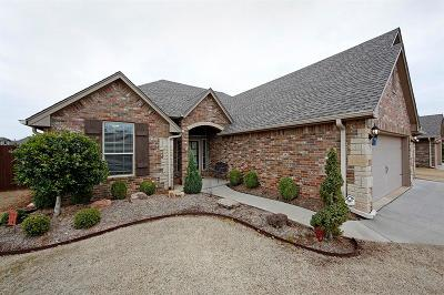 Single Family Home For Sale: 15512 Western Vista Drive