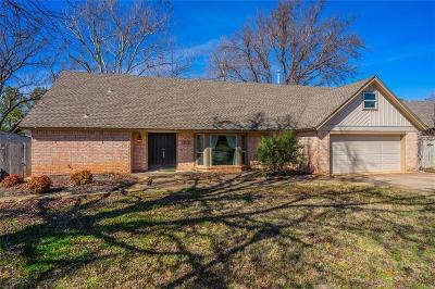 Edmond Single Family Home For Sale: 1313 Rockwood Drive