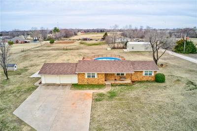 Goldsby Single Family Home For Sale: 1028 W Chestnut Road