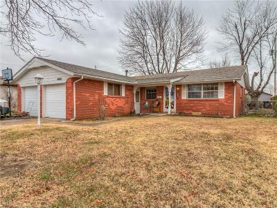 Del City Single Family Home For Sale: 4848 Woodview Drive