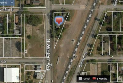 Oklahoma City Residential Lots & Land For Sale: 9512 N Western Avenue