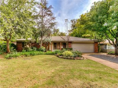 Nichols Hills Single Family Home For Sale: 1722 Westminster Place
