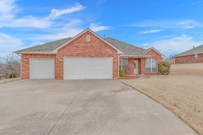 Lincoln County, Oklahoma County Single Family Home For Sale: 12815 SE 69th Street