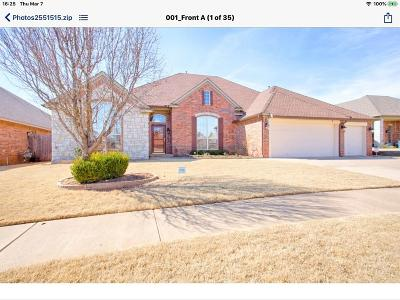 Edmond Single Family Home For Sale: 17013 Wales Green Avenue