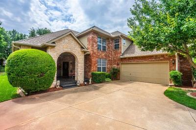 Edmond Single Family Home For Sale: 3816 Woodshadow Road