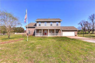 McClain County Single Family Home For Sale: 22672 State Highway 74