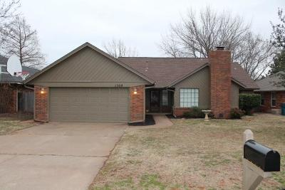 Edmond Single Family Home For Sale: 1508 Concord Lane