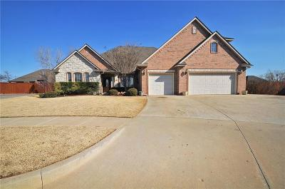Edmond Single Family Home For Sale: 17116 Holly Burn Circle